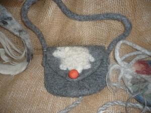 Kindertasche mit Schaf